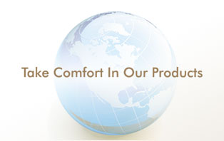 Take comfort in our products