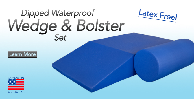 wedge & bolster set